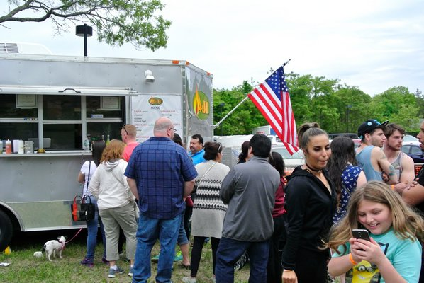 The first ever FRNCA Food Truck Festival was held over the weekend in Flanders.