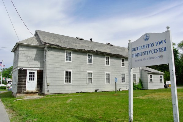 The former community center on Mill Road in Westhampton.   PRESS FILE