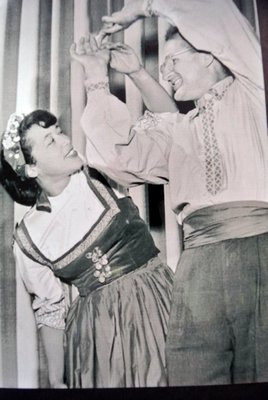 Elizabeth and Richard Halie in the early days.