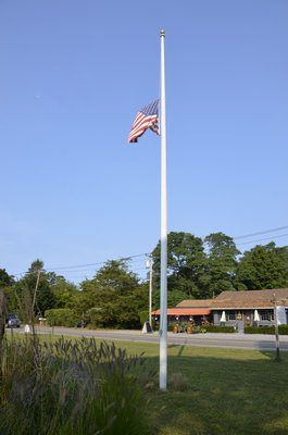 The North Sea Community Association held a 9/11 Memorial Service