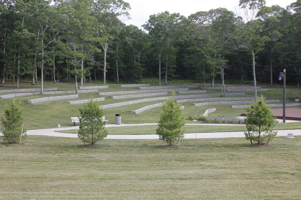 Good Ground Park in Hampton Bays. VALERIE GORDON
