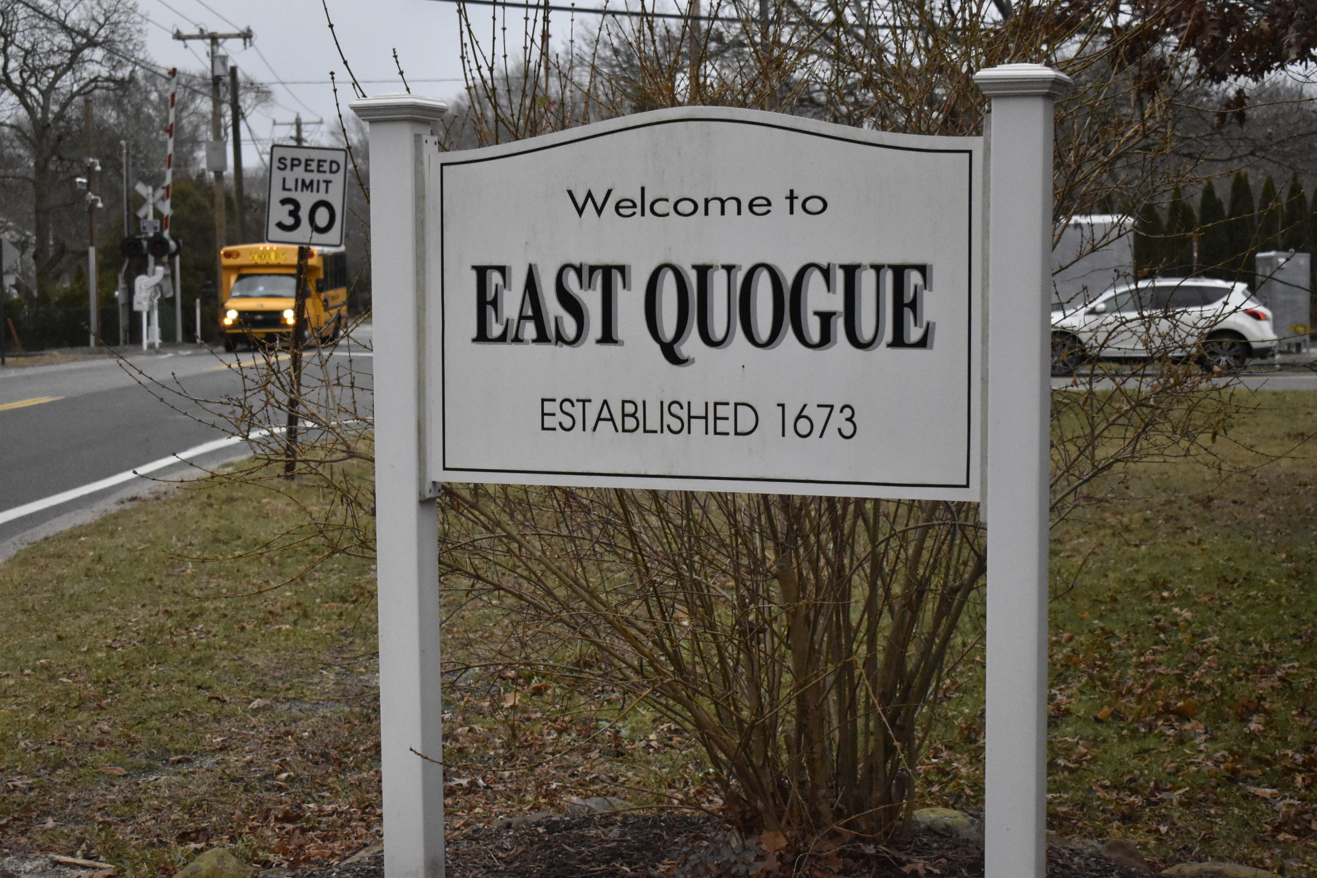 The East Quogue Village Exploratory Committee is pushing to have the hamlet incorporated into a village. VALERIE GORDON
