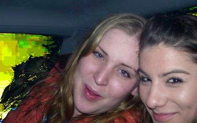 Kirstin and Leanne Amorim in 2007