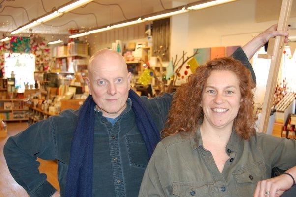 Michael Weisman and Nancy Rowan