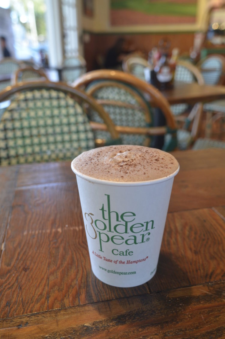 Hot chocolate at Golden Pear. KIM COVELL