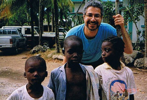 Dr. Medhat Allam during his first trip to Haiti in 1997. COURTESY OPERATION INTERNATIONAL