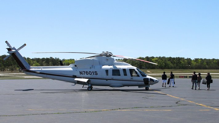 A court decision on an injunction on East Hampton Airport restrictions has been postponed. FILE PHOTO
