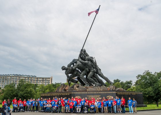 Honor Flight.  COURTESY CONCIERGE PHOTOGRAPHY