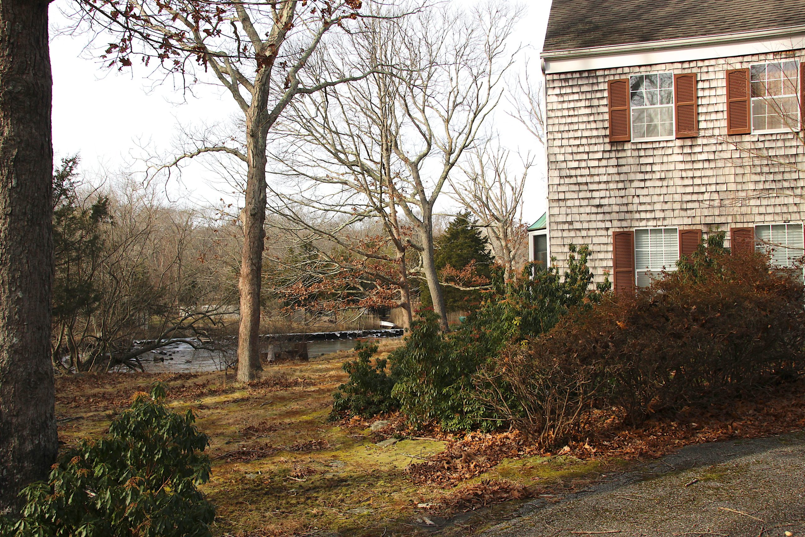 East Hampton Town has proposed purchasing 14 Kings Point Road in Springs. The house, which sits at the headwaters of Hog Creek, would be torn down and the land restored to a natural state.