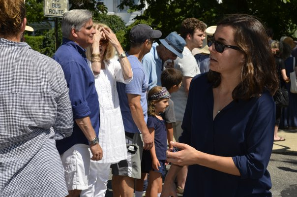 who is from a fourth-generation Sag Harbor family