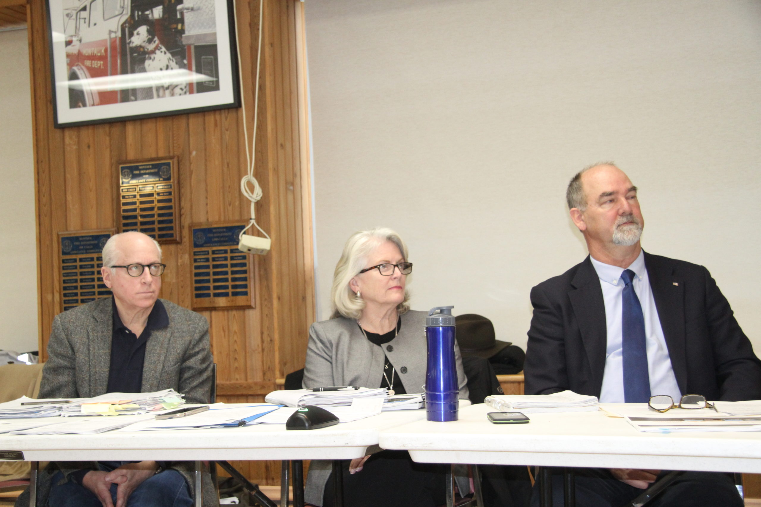East Hampton Town Board members agreed that the guidance about retreat from the oceanfront should be softened in the Montauk hamlet study.