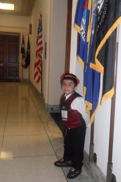 Ismael Vega celebrated his sixth birthday on March 18. COURTESY PATRICIA VEGA