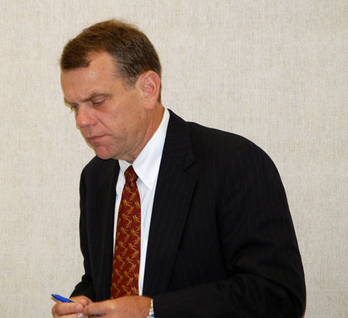 Attorney John Bennett thanked the Southampton Town Trustees for approving his client