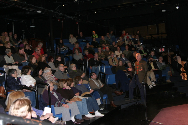 Artistic Director Murphy Davis said that moving the theater to the Parrish Art Museum building in Southampton Village is the most financially and logistically viable option right now.