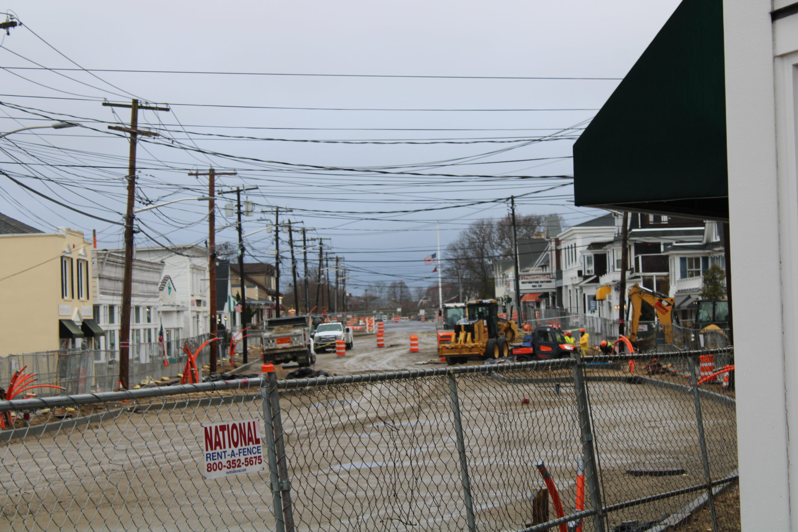 The Sewer Project in Westhampton Beach will begin in 2020.