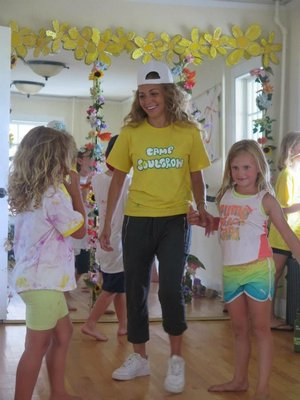 London Rosiere shares her passion of dance with Camp SoulGrow campers. COURTEST OF LONDON ROSIERE