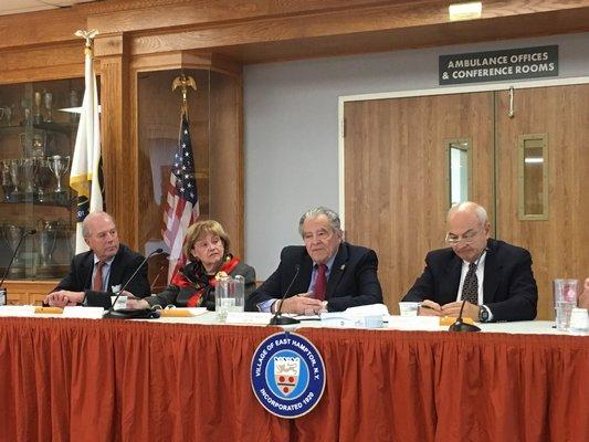 East Hampton Village Board Members