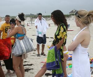 a TV show set in the Hamptons. JESSICA DINAPOLI