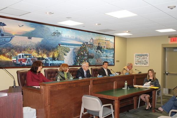 The Westhampton Beach Village Board: Trustee Patricia DiBenedetto