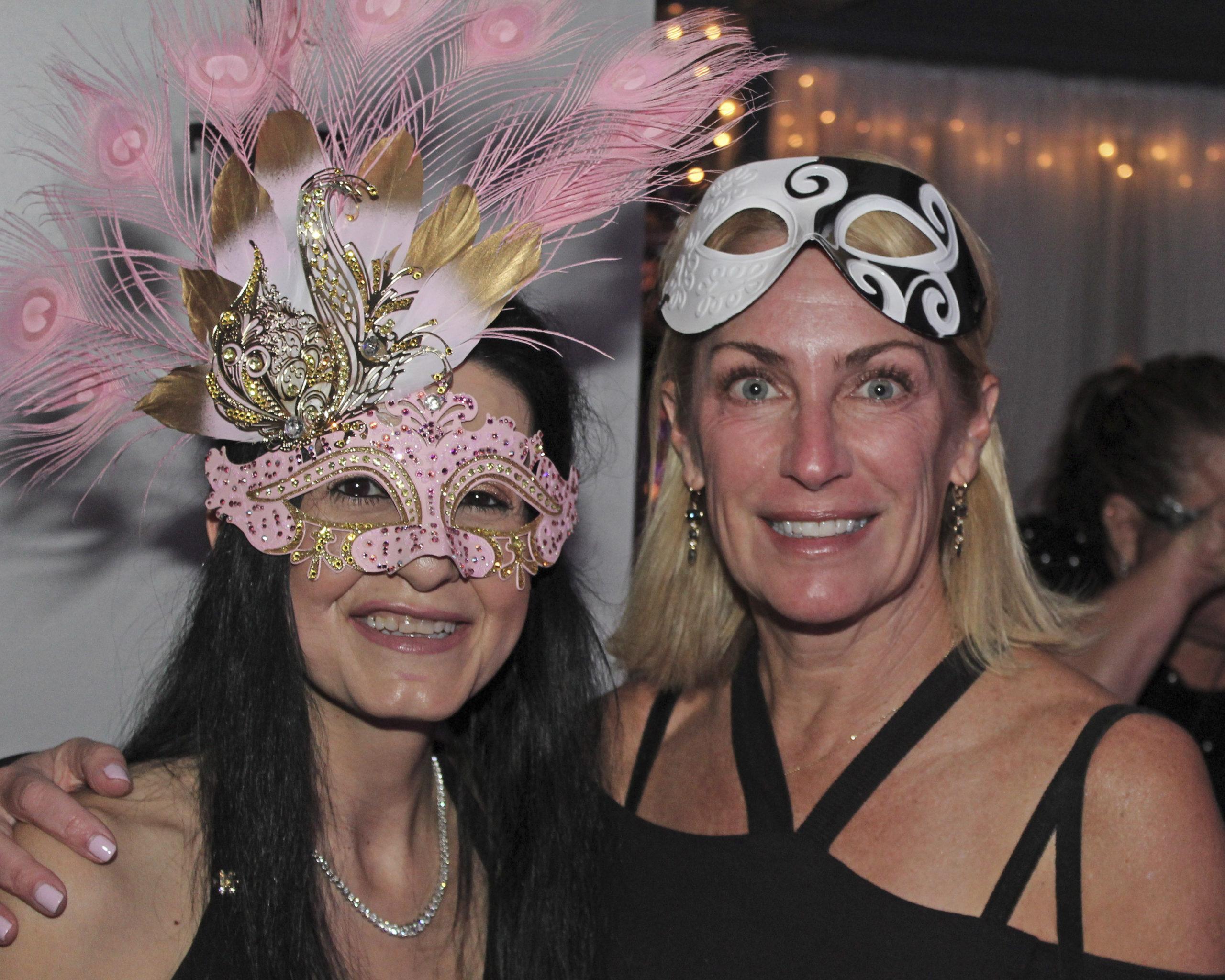 Dr. Edna Kapenhas with Stacy Quarty.