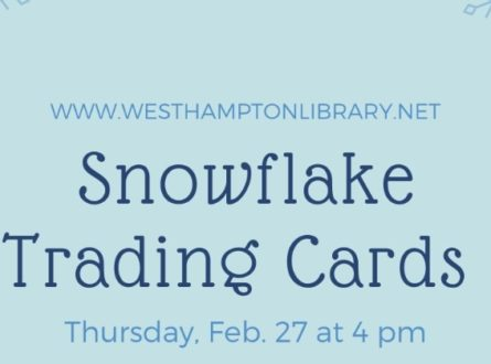 Snowflake trading cards