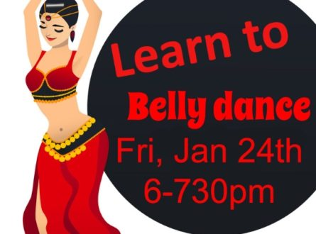 Mindful Belly Dance Class with Tal Hafner