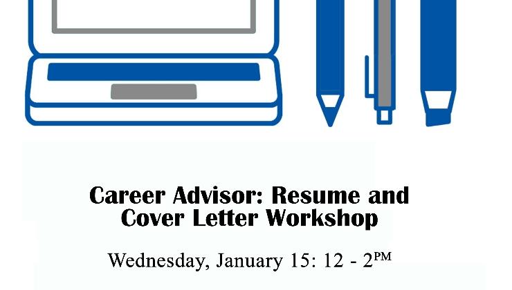 Career Advisor: Resume and Cover Letter Workshop - 27 East
