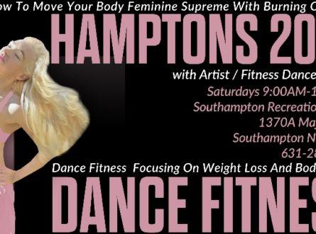 Hamptons 2020 Dance Fitness with Artist / Fitness Dancer KINGA