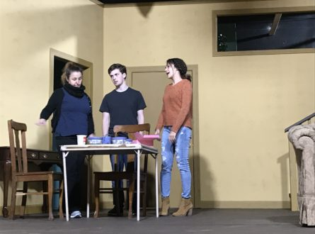 """Admissions"" presented by Hampton Theatre Company"