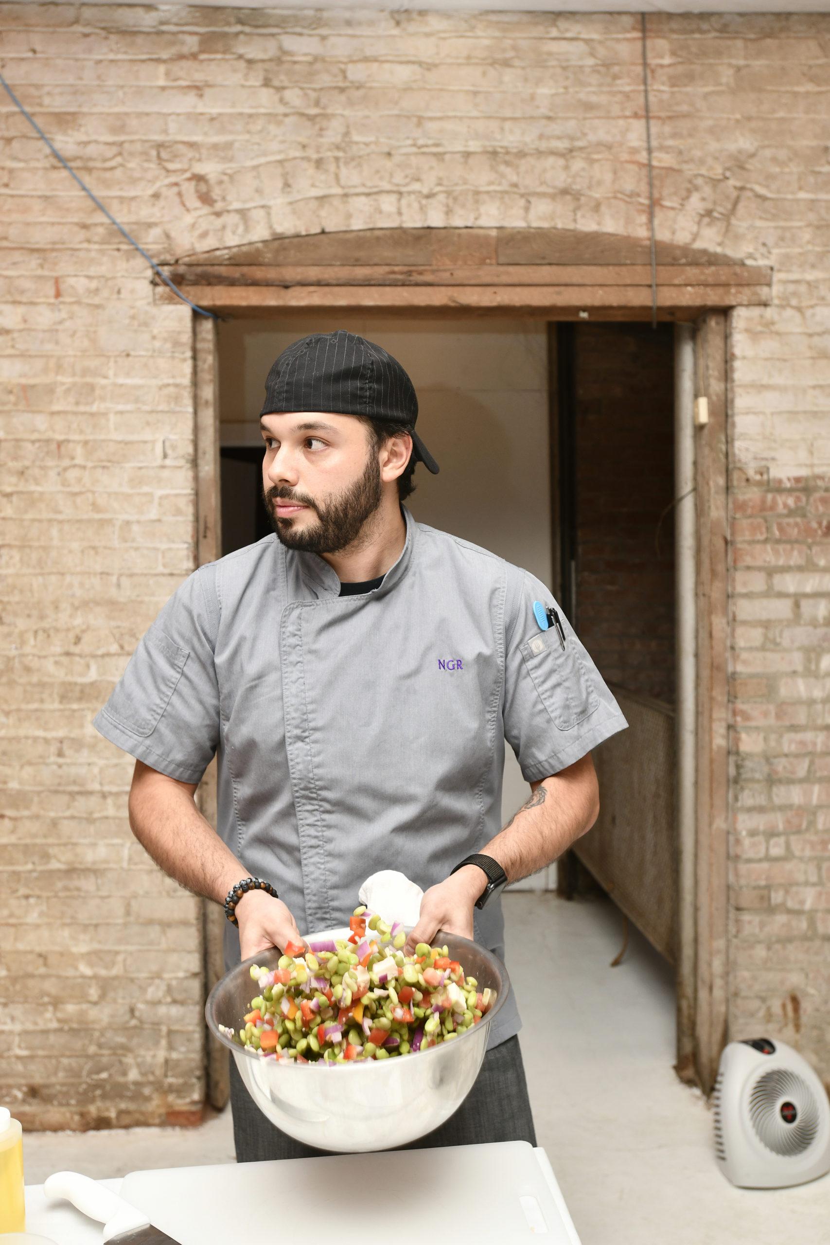 Chef Nicolas Reisini.