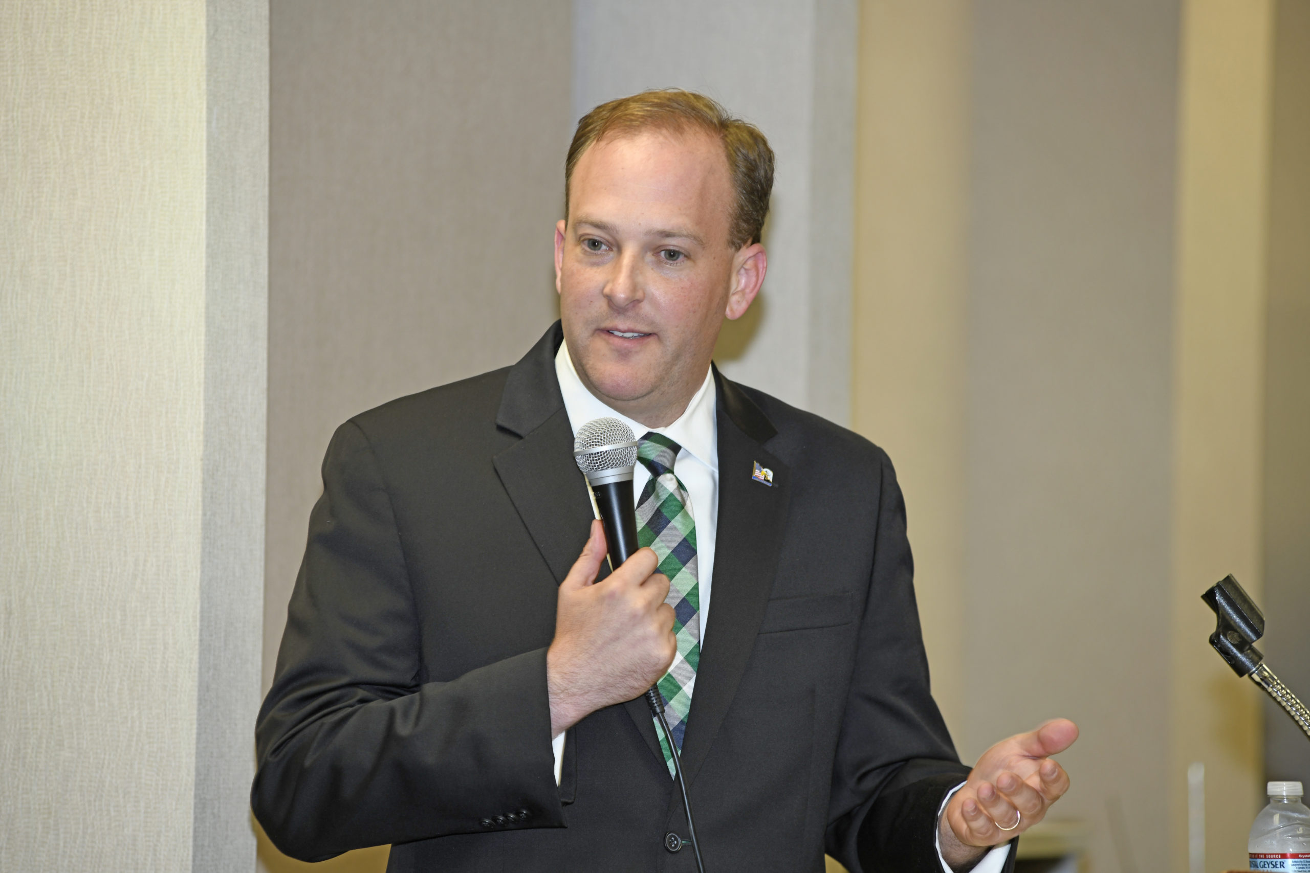 U.S. Representative Lee Zeldin was among eight Republicans named to President Trump's impeachment team on Monday.     PRESS FILE