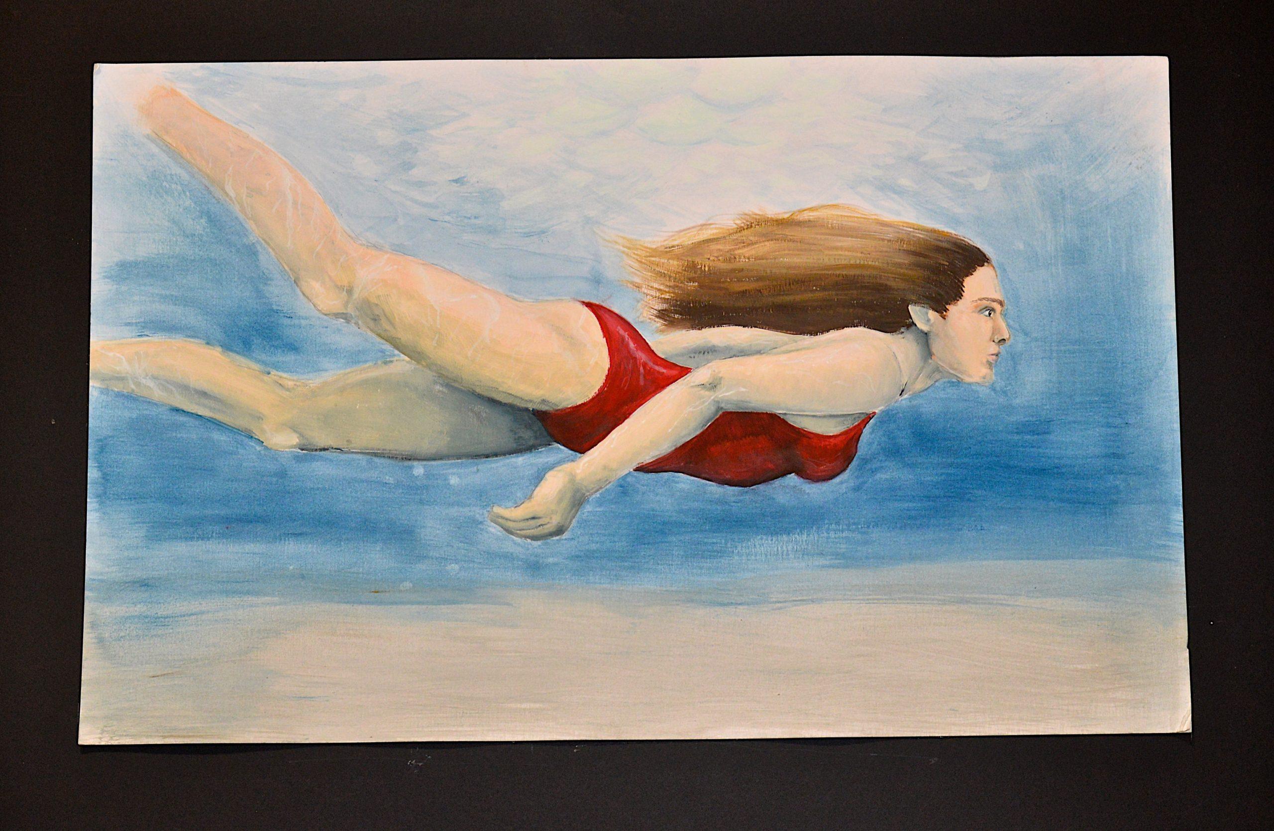 A work from 11th grade Pierson High School student  Rachel McKelvey.     KYRIL BROMLEY