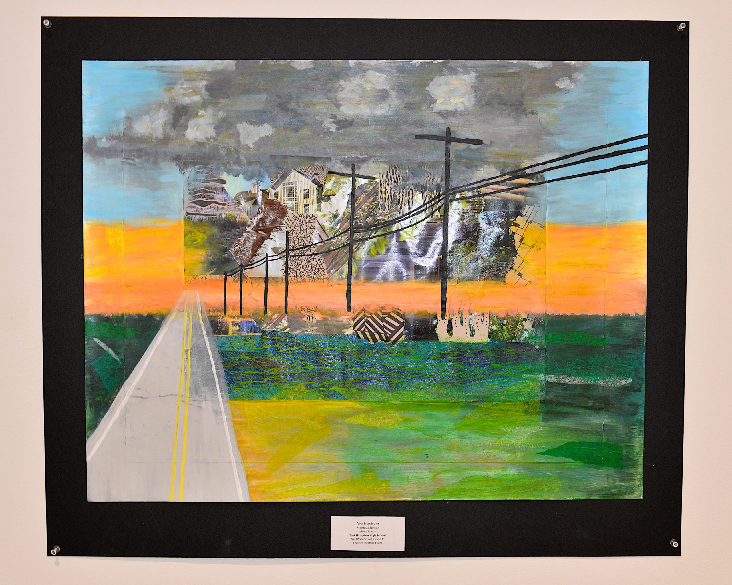 A work from 11th grade East Hampton High School student  Ava Engstrom.   KYRIL BROMLEY