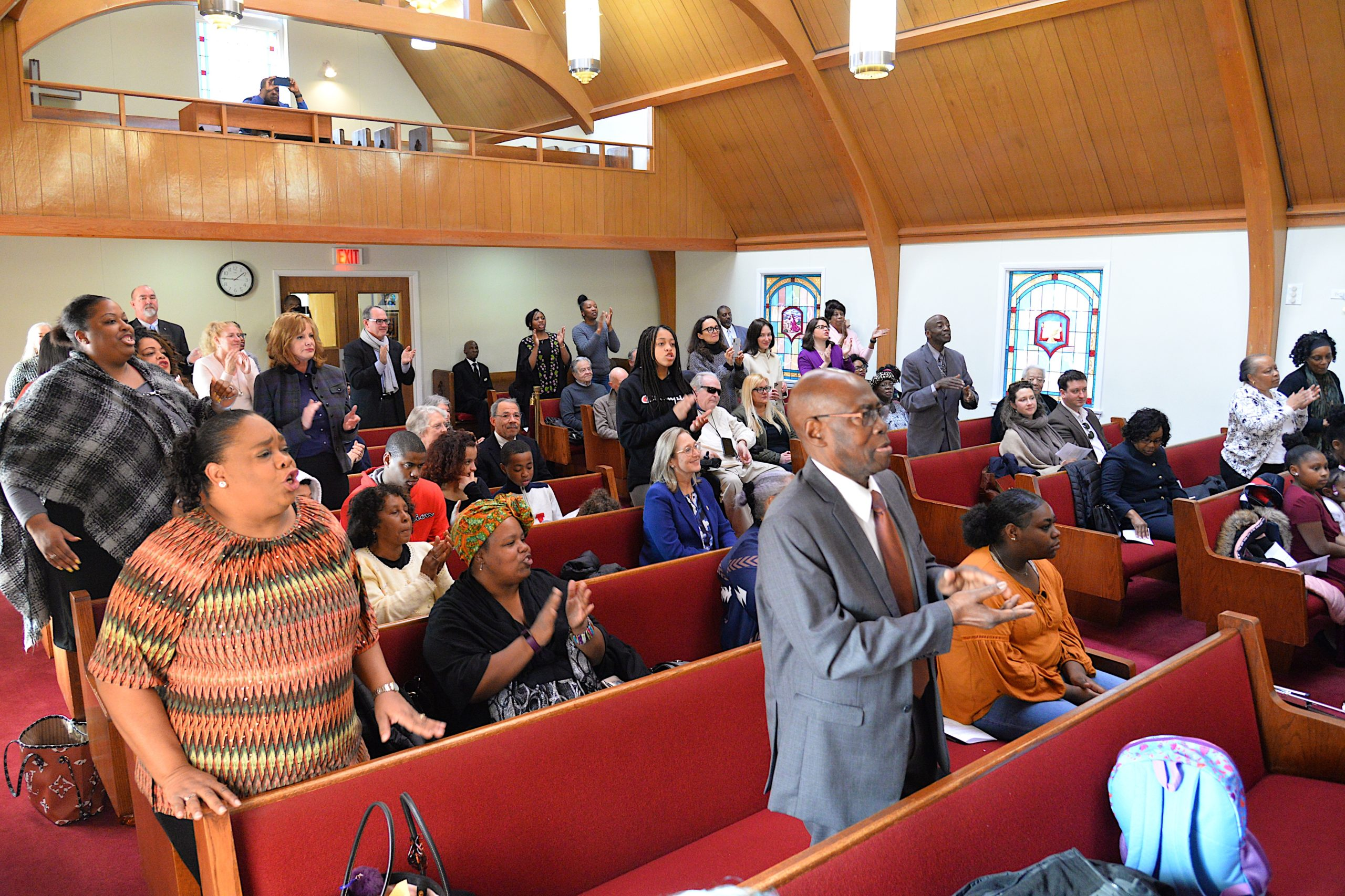 A special service honoring Martin Luther King Jr. took place at Calvary Baptist Church on Monday. The keynote speaker was Dr. Georgette L. Grier-Key. KYRIL BROMLEY