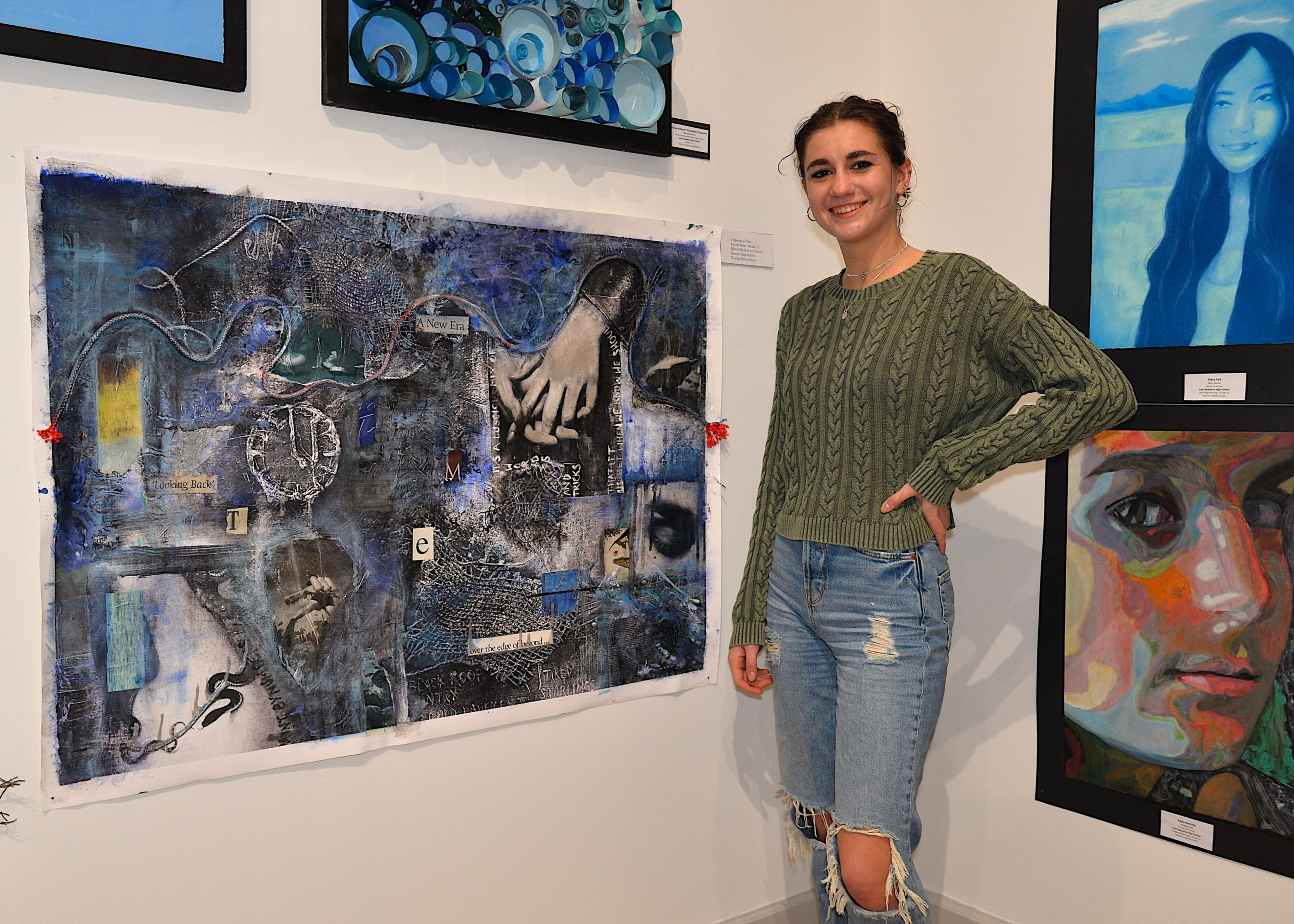 The Student Arts Festival opened at Guild Hall on Saturday with a reception. KYRIL BROMLEY
