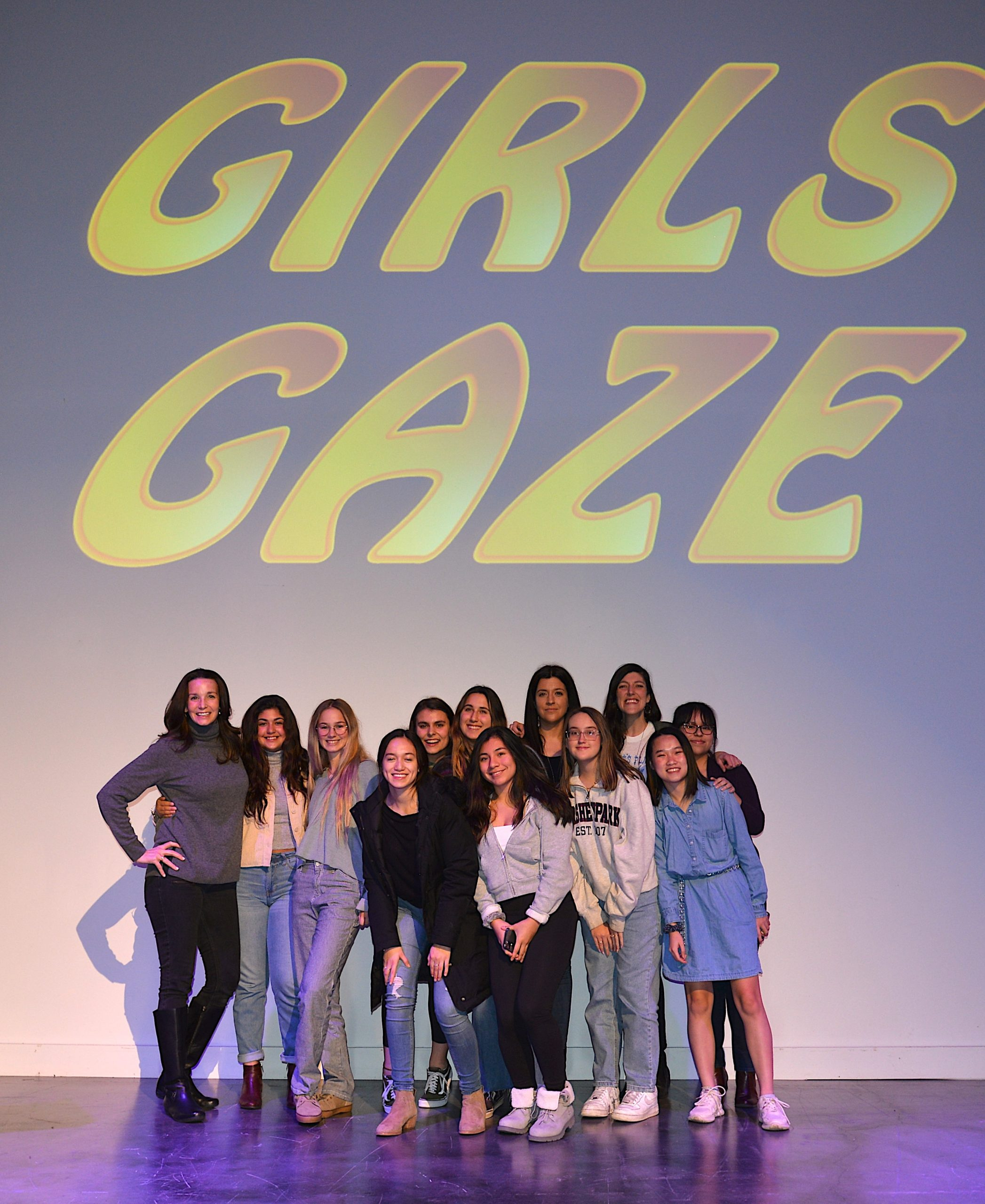 Girls Gaze, a screening of short films created by East Hampton High School girls who participated in a pilot program with the Neo-Political Cowgirls, took place at LTV Media Center on Thursday. The event was also supported by the Hamptons Film Festival, East Hampton Kiwanis and East Hampton Lions. KYRIL BROMLEY