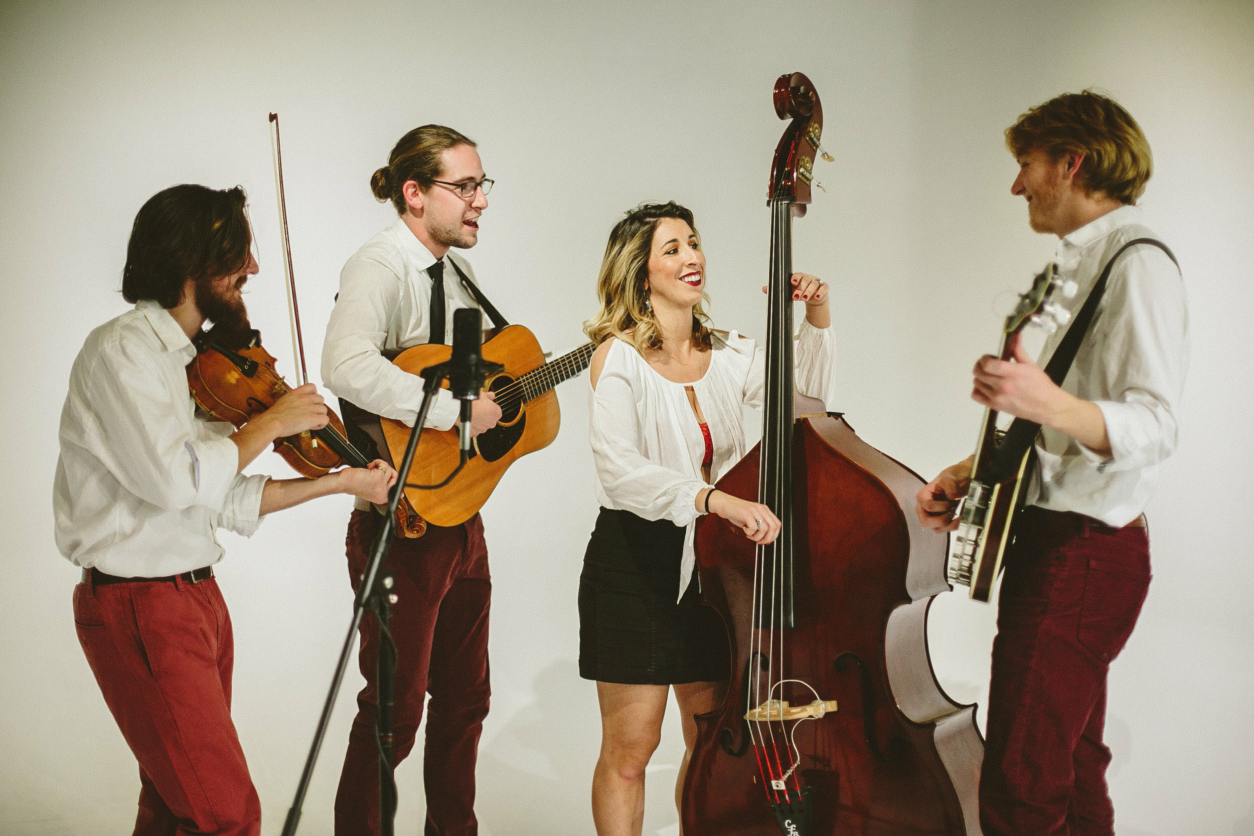 The bluegrass band Damn Tall Buildings will perform on Shelter Island as part of the Sylvester Manor music series.