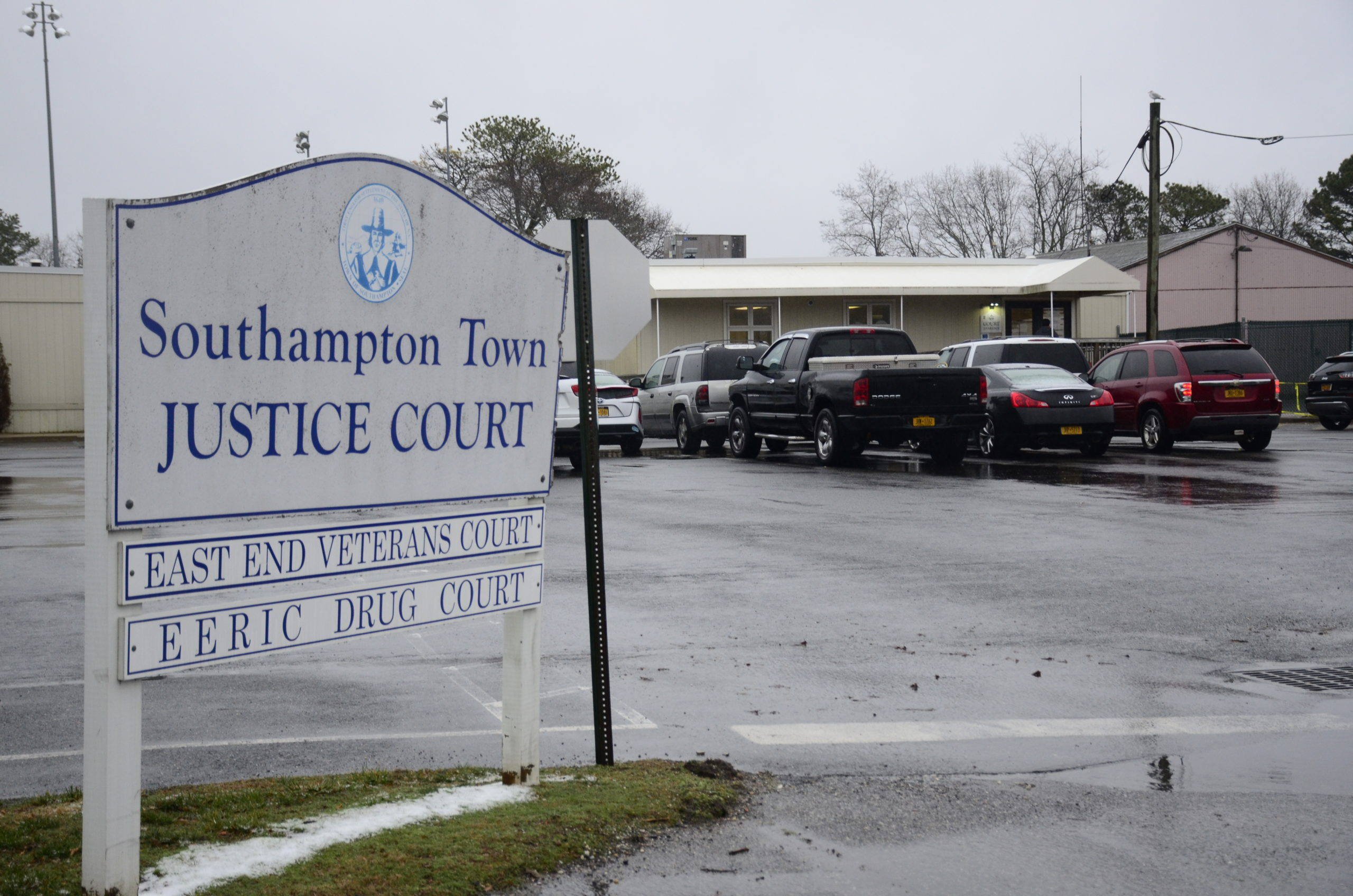 Southampton Town Justice Court in Hampton Bays. GREG WEHNER