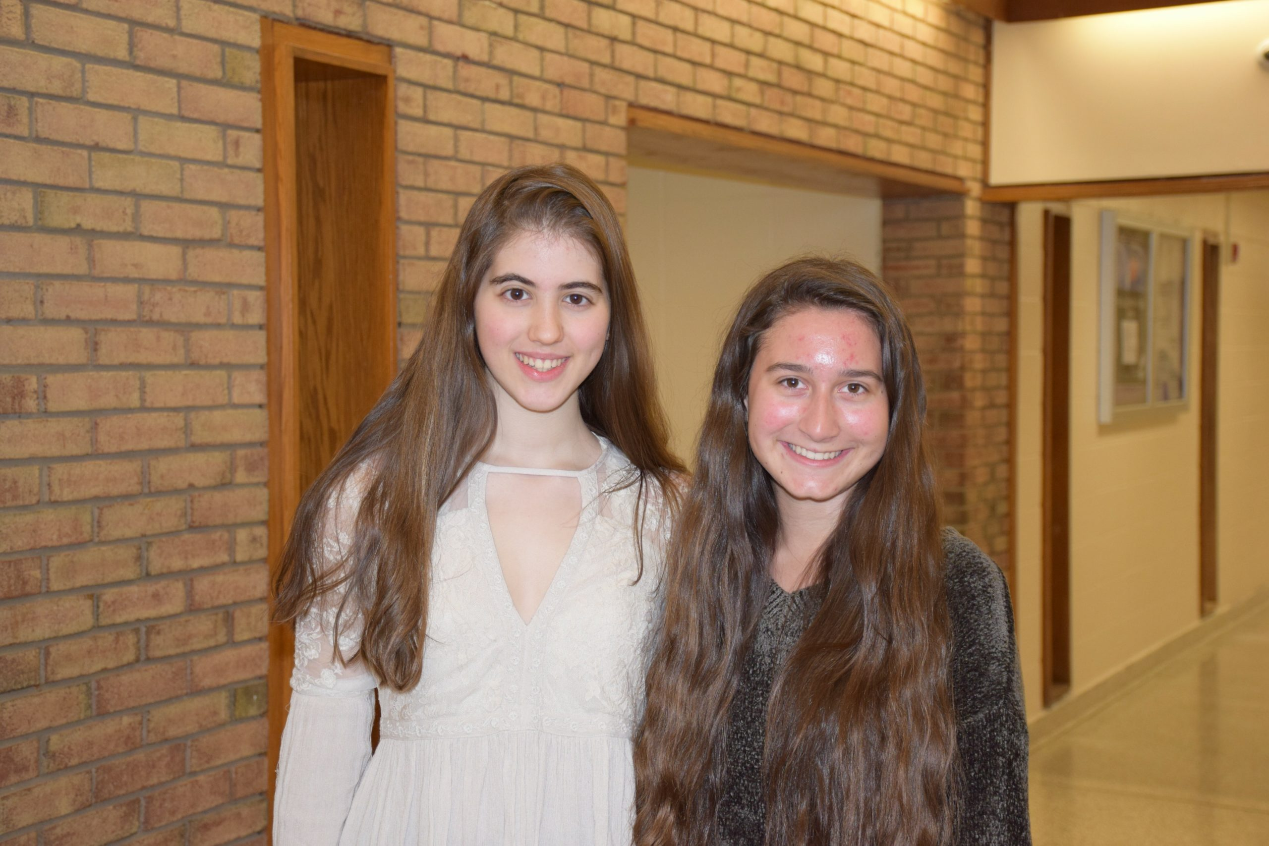Hampton Bays High School seniors Skye McMorris, left, and Gabrielle Caine have been named National Merit Commended Students. In addition to their studies, both students are involved in their school. Gabrielle is a member of the Interact and Rotary Youth Leadership clubs. She also sings, plays the cello and is the founder of the Healthy Harmony Club, a group of student musicians who perform at area nursing homes. She intends to pursue studies in the music industry in college. Skye is a science research student and a member of her school's Key Club, Interact Club and Science Olympiad team. She also plays volleyball. She plans to study biochemistry in college.