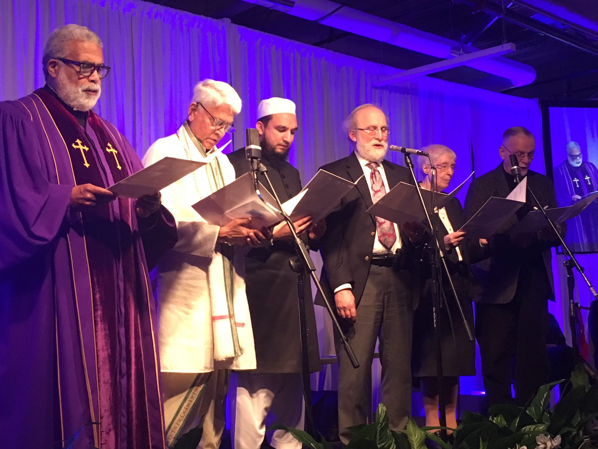 East End faith leaders offered the invocation. KITTYMERRILL