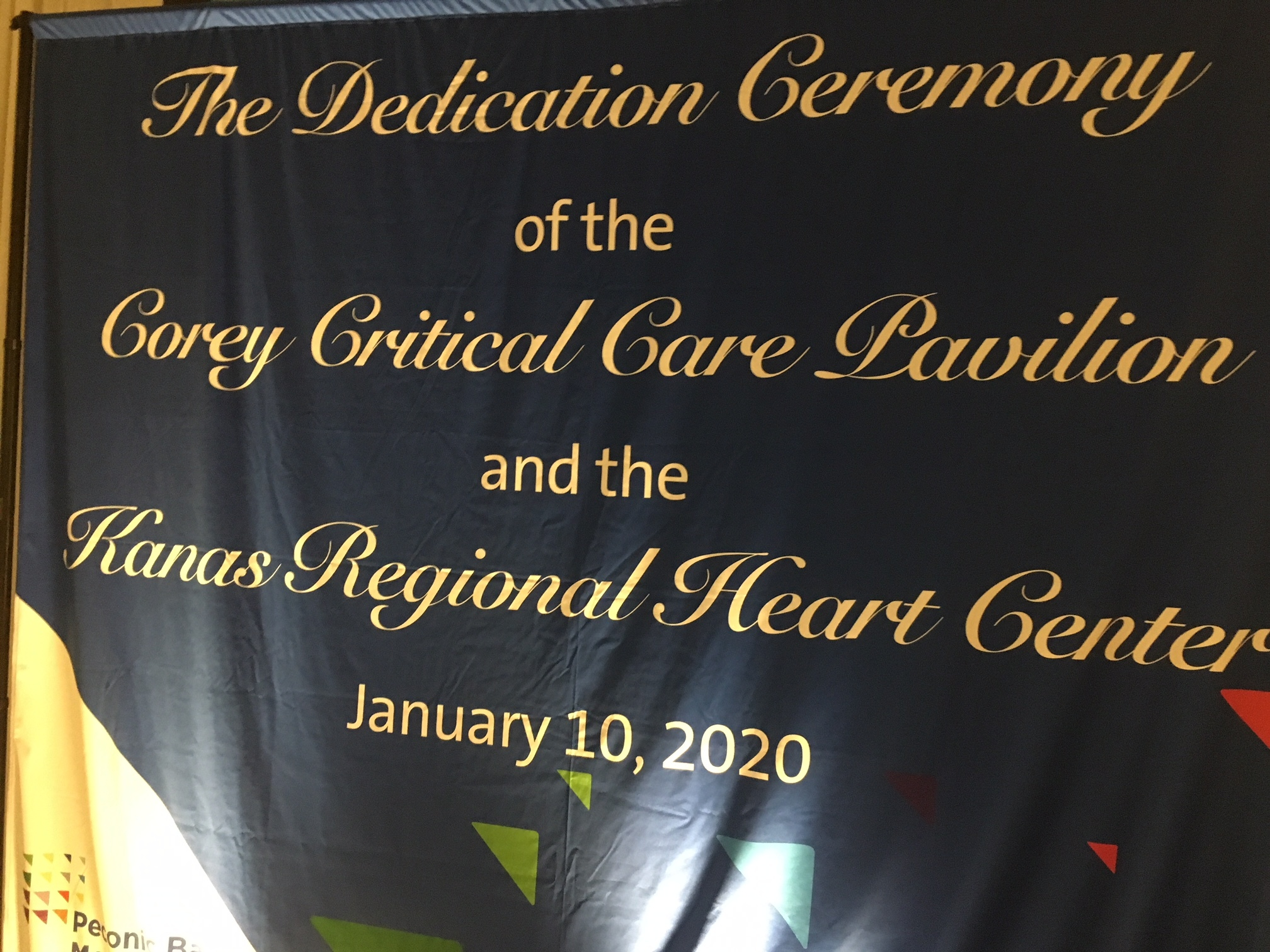 A Ceremony held at Peconic Bay Medical Center Friday celebrated the opening of a new critical care pavillion and heart center. KITTY MERRILL