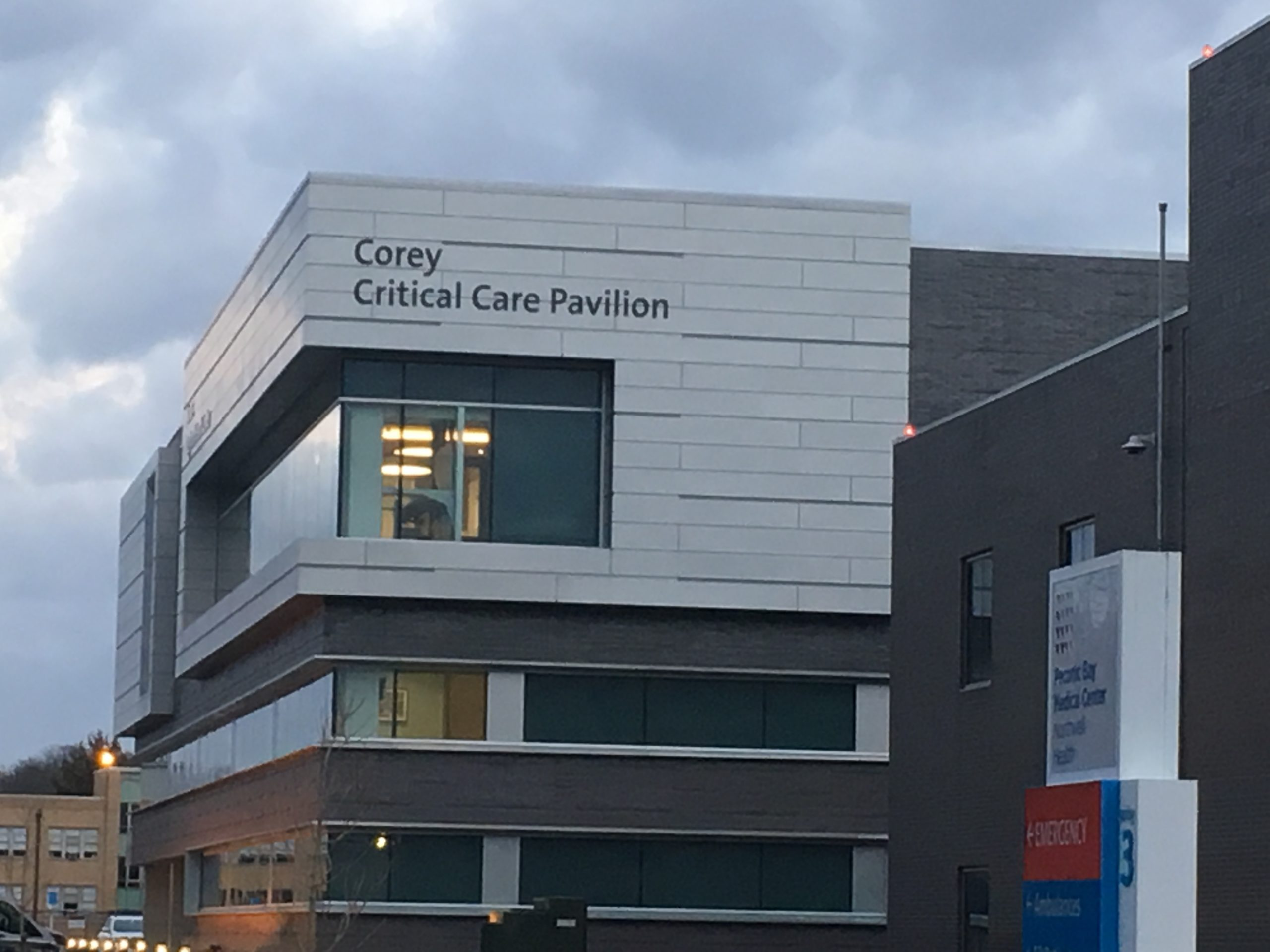 The Corey Critical Care Pavilion at Peconic Bay Medical Center. KITTY MERRILL