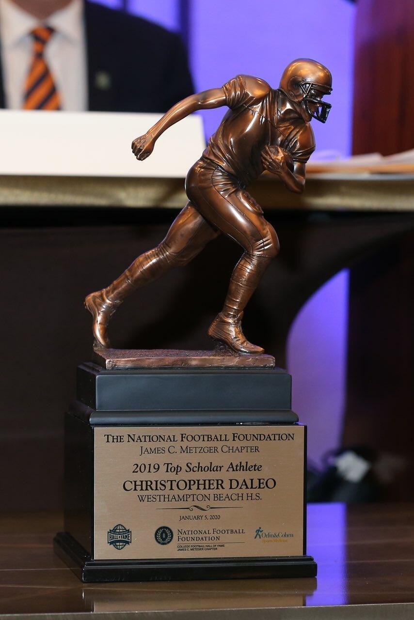 The 2019 Top Scholar Athlete Award.