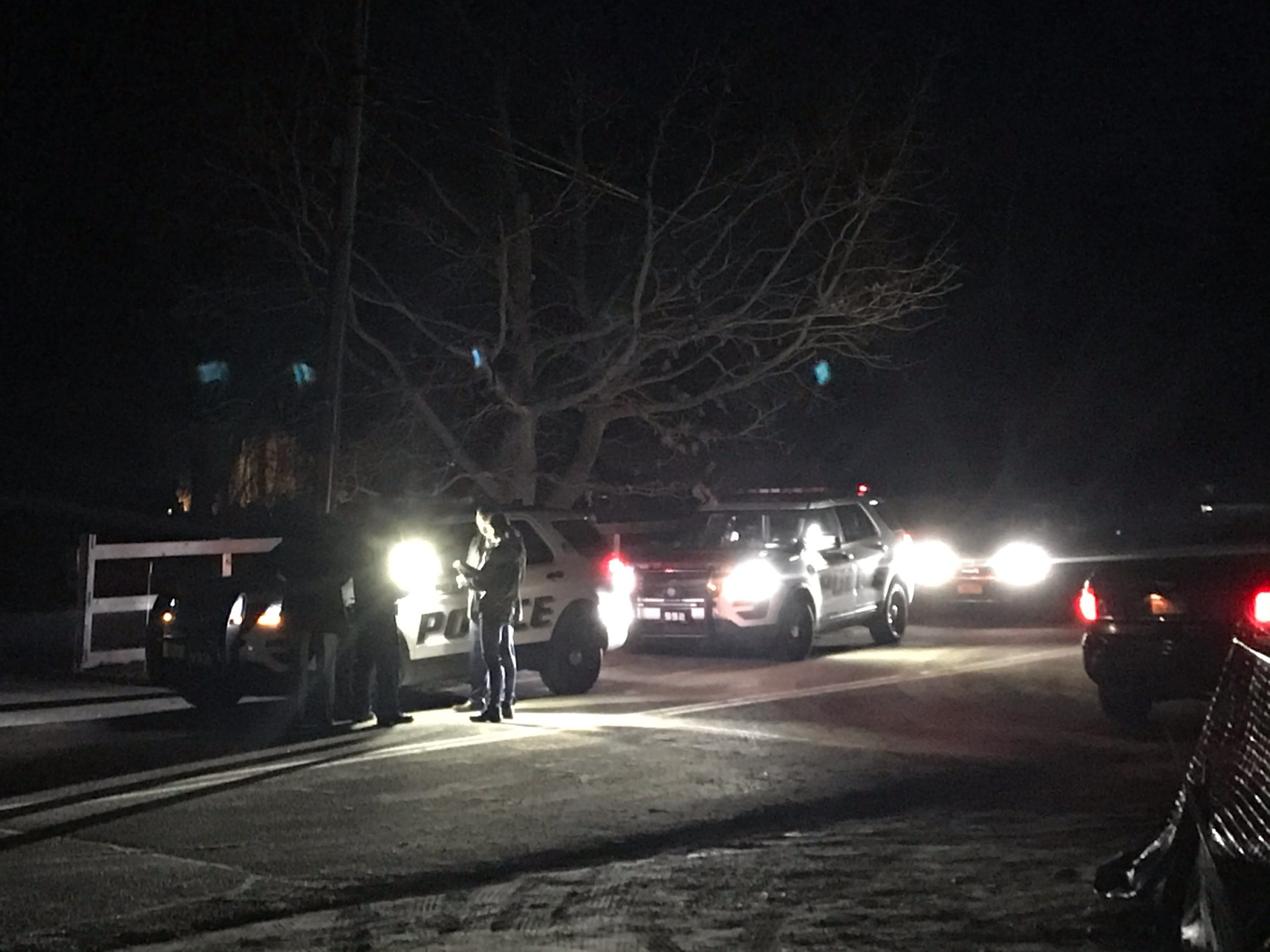 East Hampton Town Police responded to a construction accident at 57 Glenmore Avenue in Montauk on Friday night.