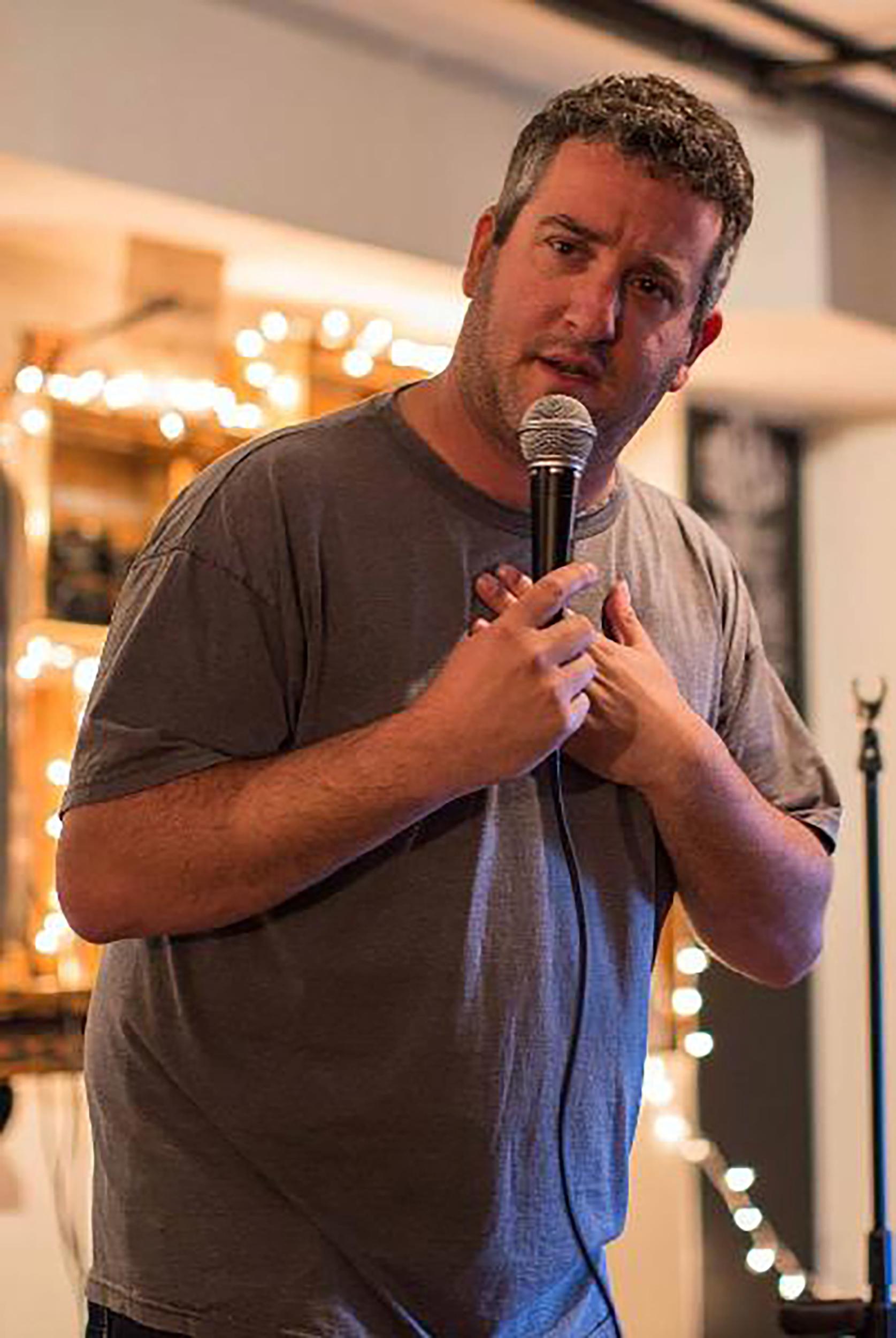 Comedian Ken Krantz.