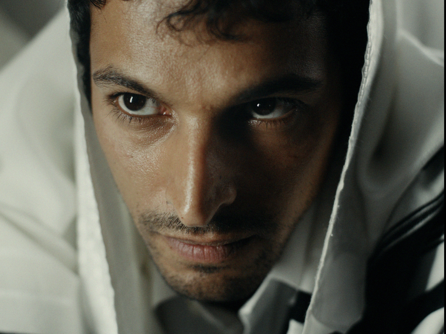 Yehuda Nahari Halev plays Yagil Amir in a scene from  Yaron Zilberman's film