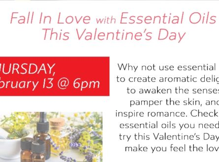 Fall in Love with Essential Oils this Valentine's Day