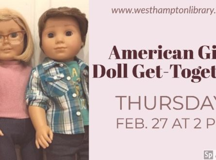 American Girl doll get-together