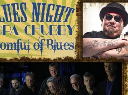 Suffolk Theater Blues Night: Popa Chubby and Roomful of Blues