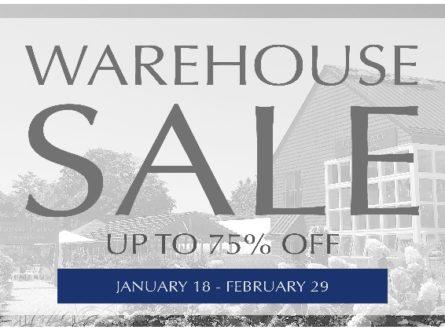WAREHOUSE SALE!!!